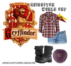 Gryffindor - Quidditch World Cup by sad-samantha on Polyvore featuring polyvore, мода, style, Dorothy Perkins, Forever New, fashion and clothing