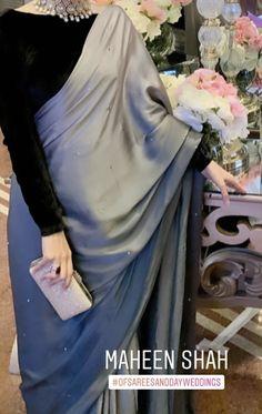 Pakistani Fashion Party Wear, Pakistani Wedding Outfits, Indian Fashion Dresses, Pakistani Dress Design, Bridal Outfits, Beautiful Pakistani Dresses, Elegant Saree, Stylish Dress Designs, Designs For Dresses