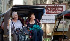 Best exotic marigold hotel, makes you feel warm and fuzzy