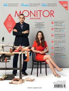 My photo on cover. MONITOR MAGAZINE No 3(5)/2013.