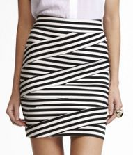 ahhhhh!!!!!! DIAGONAL STRIPE BANDAGE SKIRT - Both the Design and the Name are fun. /;)