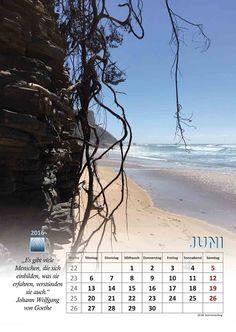 Selbstgemachtes und Kreatives: Kalenderblatt Juni 2016