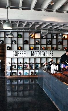 See See Motor Coffee Co | Travel | Vacation Ideas | Road Trip | Places to Visit | Portland | OR | Motorcycle Shop | Bakery | Automotive Attraction | Engineering Marvel | Quirky Shop | Coffee Shop