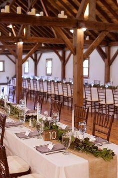 Upscale Barn Wedding In Vermont