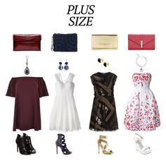 """""""Untitled #284"""" by susy-1697 ❤ liked on Polyvore featuring Oscar de la Renta, navabi, Unique Vintage, River Island, Christian Siriano, 1928, Mary Frances Accessories, Chico's, ALDO and Trina Turk"""