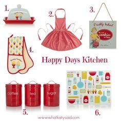 happy days kitchen