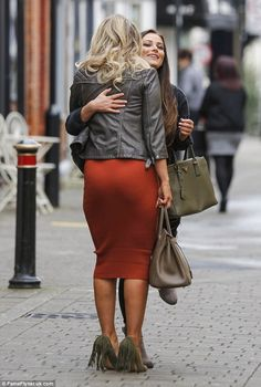 Danielle Armstrong and Courtney Green looked to have put their tumultuous history behind t...