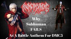 HOW Subhuman FAILS As A BATTLE ANTHEM For DEVIL MAY CRY 5