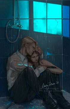 Harry Potter Artwork, Draco Harry Potter, Harry Potter Ships, Harry Potter Pictures, Draco Malfoy Aesthetic, Harry Potter Aesthetic, Draco And Hermione Fanfiction, Scorpius And Rose, Dramione Fan Art