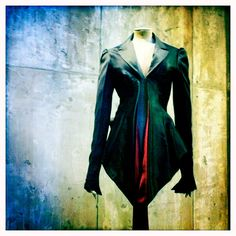 Alexander McQueen jacket, from Jack the Ripper Stalks his Victims, 1992.