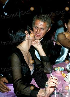 Steve Mcqueen and Wife Neile Photo By:sylvia Norris/Globe Photos, Inc