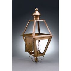 Northeast Lantern Boston 3 Light Outdoor Sconce Finish: Dark Brass, Shade Type: Frosted