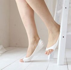 10 Colors Open Toe Invisibility Skid Resistance Cotton Socks SP153819
