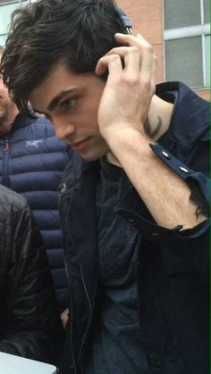 Alec from shadowhunters! I could just MELT looking at his gorgeous face! His sister is Annabeth from Percy Jackson, can you guys believe that?! Fandom Siblings!!!