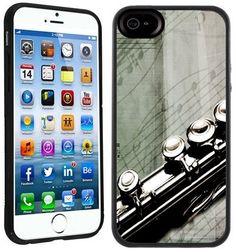 "Amazon.com: Flute Music Handmade iPhone 6 4.7"" Black Case: Cell Phones & Accessories"
