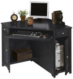 """Oxford 50""""W Corner Computer Desk - Standard Desks - Home Office Furniture - Furniture   HomeDecorators.com $289.00"""