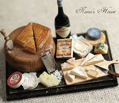 Nunu's House beautiful cheese board
