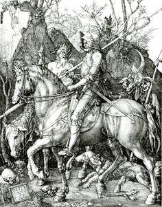 Knight, Death, and Devil by Albrecht Dürer | A List of 10 Master Drawers, and What They Teach Us | Drawing magazine | Artist Daily