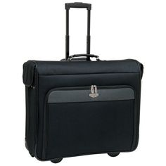 Travelers Club 44 in. Wheeled Garment Bag - Black - EVA-57144-001
