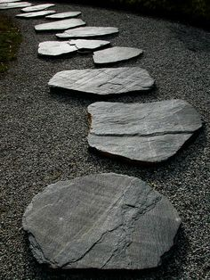 thekimonogallery:  Rocks in a Japanese Zen garden represent islands, mountains, or other land mass. They symbolize calmness and mindfulness....