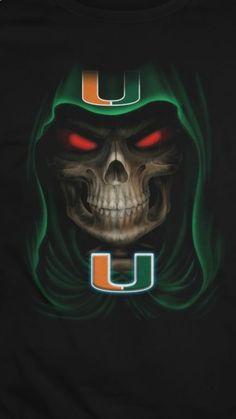 U Of M Football, Miami Football, Florida Gators Football, College Football Teams, Football Uniforms, Football Gear, Football Helmets, Sports Teams, Miami Hurricanes Apparel