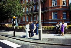 Rare Shots of the Beatles Abbey Road Cover Photo Session