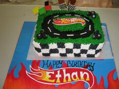 The cake my sister made for Ethan's 4th birthday love ya JoJo thank you