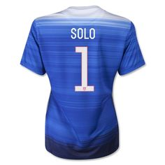 USA 2015/16 Jersey #1 Solo Women's Away Soccer Shirt