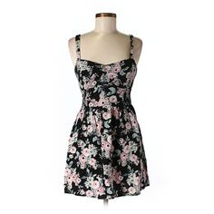 Pre-owned Band of Gypsies Casual Dress ($14) ❤ liked on Polyvore featuring dresses, black, kohl dresses, preowned dresses, band of gypsies, black dress and pre owned dresses