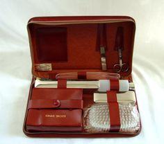 Ready Set Go  vintage Jet Setter Leather by retromanvintage, $30.00