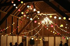 Cable & Cotton sparkling rafters.