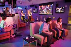 Cool Teen Hang Out Rooms   Great Wolf Lodge Indoor Water Park Resorts - Signature Features