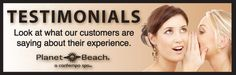 Check out our why our members love Planet Beach Contempo Spa Hopkins!     http://planetbeach.com/hopkins/testimonials/