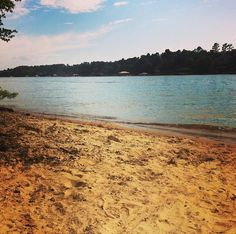 An island on Lake Norman, North Carolina. {Photography by Mackenzie Slayton}