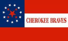 [Southern Cherokee flag]