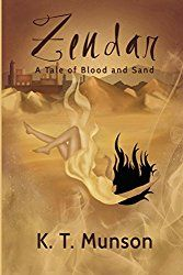 This review was kindly requested by K. T. Munson Zendar is a fantasy romance novel written about a girl named Azel Undel. She is the youngest daughter of one of the seven bloodlines. She is arrange…