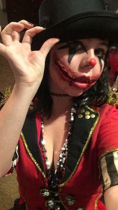 Twisted Ringmaster makeup