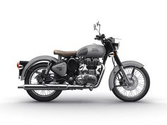 Royal Enfield Classic Gunmetal Grey and Stealth Black Colors gray color enfield - Gray Things Enfield Motorcycle, Enfield Bike, Motorcycle Style, Motorcycle News, Royal Enfield Bullet, Royal Enfield Classic 350cc, Royal Enfield Wallpapers, Royal Enfield India, Frames