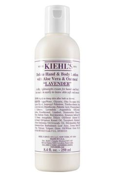 Main Image - Kiehl's Since 1851 Deluxe Hand & Body Lotion with Aloe Vera & Oatmeal (Grapefruit)