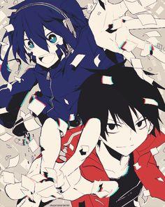 Ene y Shintaro Vocaloid, Couple Sketch, Anime Songs, K Project, Kagerou Project, Wattpad, Actors, Happy Summer, The Villain