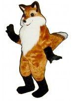 Mascot costume #1334-Z Fancy Fox