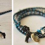 Comment faire un bracelet de perles et cordon de cuir