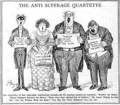 Any information on women's suffrage? Easy Easy 10 points!?