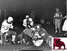 1947 L.A. Dons massacre Baltimore Colts at Coliseum Los Angeles California