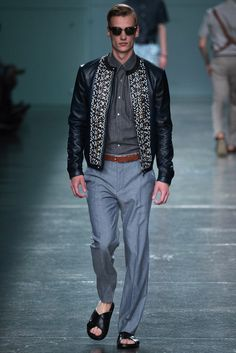 #Fendi RTW #SS2015 - #Menswear - #Fashion