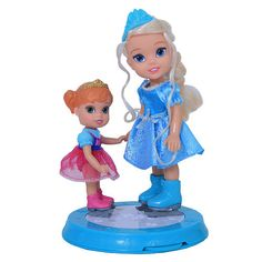 "Baby Disney Frozen Anna | Disney Frozen 6 inch Elsa with Baby Anna Figure - Tolly Tots - Toys""R ..."