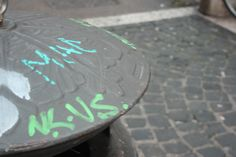 #Graffiti in #RioneMonti, #Rome #Green