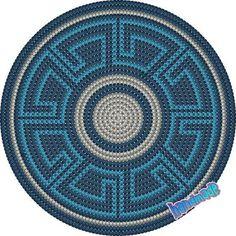 Risultati immagini per crochet pattern wayuu bag Tapestry Crochet Patterns, Crochet Stitches Patterns, Crochet Chart, Diy Crochet, Stitch Patterns, Crochet Gratis, Mochila Tutorial, Mochila Crochet, Diy Sac