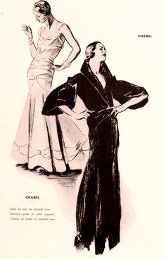 Chanel - Paris - 1932 -  http://www.pinterest.com/adisavoiaditrev/