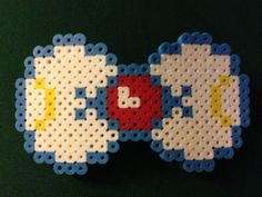 Salior Moon Hairbow perler beads by SillyRabbitCrafts